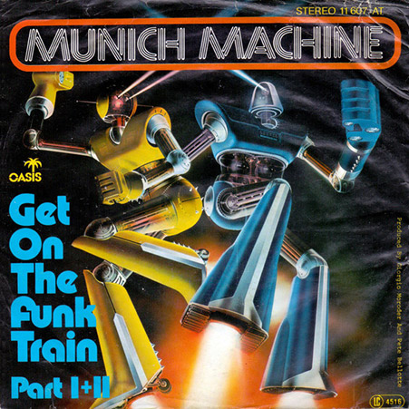 munich machine get on the funk train