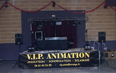 podium VIP
