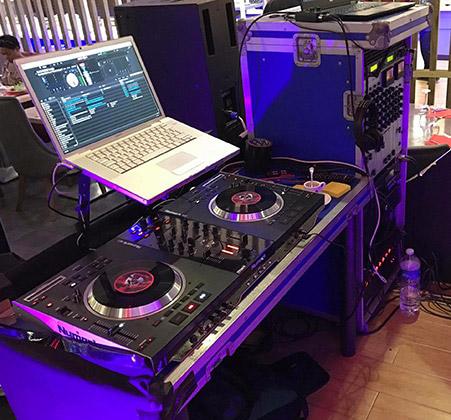 platines cd regie DJ