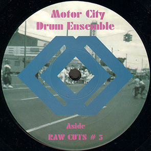 MOTOR CITY DRUM ENSEMBLE – Raw Cuts #5