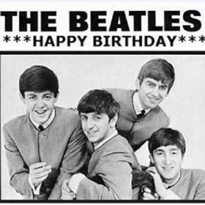 THE BEATLES – Birthday